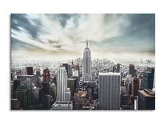 Tablou Sticla Glasspik Loft, 80x120 cm #homedecor #interiordesign #inspiration #paint Loft, Interiores Design, Home Deco, New York Skyline, Abstract, Travel, Summary, Viajes, Lofts