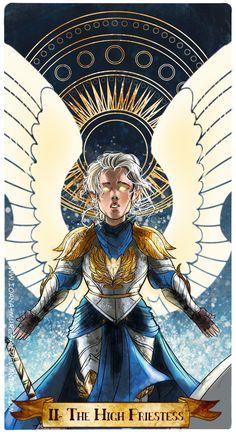 II- The High Priestess by Ioana-Muresan.deviantart.com on @DeviantArt