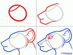 Image result for cartoon to draw step by step