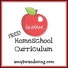 links to free grammar curriculum