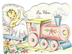 I'm Here (baby card) by Tommer G, via Flickr