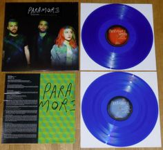 Paramore s T 2xLP RARE Blue Vinyl 1500 Panic at The Disco Fall Out Boy No Doubt | eBay
