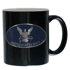 Navy Ceramic Coffee mug | AmerWear.com