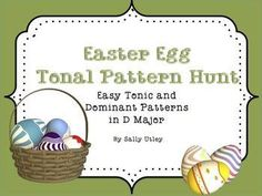 A seasonal game to reinforce or assess recognition of 8 easy tonic & dominant tonal patterns. Includes 8 practice slides, a game slide with all 8 patterns, and 8 pattern cards to print & laminate. Tonic patterns include arrangements of do-mi-so; dominant