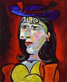 1896 Pablo Picasso (Spanish artist, Portrait of the Artist's Mother. Pablo Picasso, one of the dominant & most influential . Kunst Picasso, Art Picasso, Picasso Paintings, Harlem Renaissance, Dora Maar, Art Gallery, Abstract Portrait, Cubist Portraits, Portrait Paintings