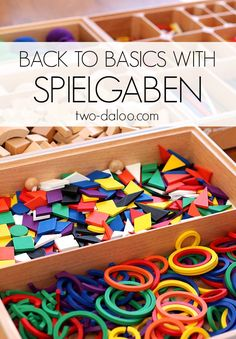 Come see how we've been playing and learning with the ultimate battery-free educational toy- Spielgaben review at Twodaloo
