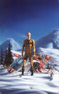 Mutant by Peter Elson, Science Fiction Illustrator