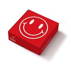 Tercera caja que estrenamos para 2017. Smile + buenos días Corrugated Box, Gifts, Paper, Party, Good Morning, Baskets, Boxes, Presents, Carton Box
