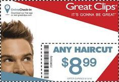 great clips discount coupons free coupons of great clips