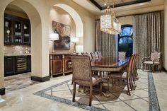 Tuscan Transitional Home by Jauregui Architect