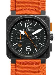 Bell & Ross - BR 03-4 Carbon Orange Limited Edition