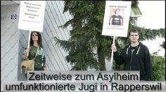 """Am 13. September 2014 machten Aktivistinnen und Aktivisten der AL ihr zweites """"Bonze-Bsüechli"""" bei einem prominenten pauschalbesteuerten Mulitimillionär, die..."""