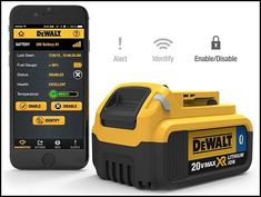 Two Big Ways Cordless Power Tools Will Get Even Better Dewalt Power Tools, Cordless Power Tools, Carpentry Tools, Woodworking Tools, Dewalt Tough System, Industrial Power Tools, Tool Poster, Power Tool Storage, Tool Website