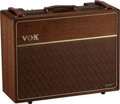 Vox AC 30 50th anniversary In mahogany?