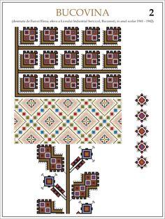 eleva - ie Bucovina (JPEG Image, 1200 × 1600 pixels) — Масштабоване Beading Patterns, Embroidery Patterns, Cross Stitch Patterns, Thing 1, Hama Beads, Pixel Art, Folk, Projects To Try, Traditional