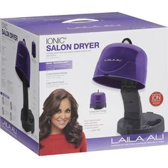A ion hooded hair dryer is another option for drying curly hair. Sally's Beauty Supply sells one for about $75.