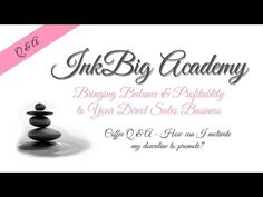 InkBig Academy Coffee Q&A Training for Stampin'Up! Demonstrators: How do I get my downline to promote? Business Thank You, Business Video, Facebook Business, Business Pages, Craft Business, Business Tips, Show Me The Money, Make More Money, Stampin Up