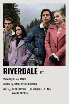 Iconic Movie Posters, Iconic Movies, Film Posters, Good Movies, Riverdale Movie, Riverdale Poster, Riverdale 2017, Film Movie, Poster Minimalista