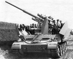 Flakpanzer für schwere Flak Geschütz 8,8 cm Flak 37