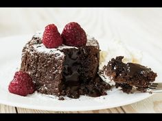 Go Ga-Ga Over This Molten Lava Chocolate Cake - Page 2 of 2 - Desserts Corner