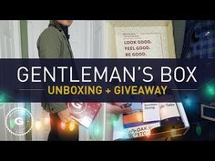Gentleman's Box Unboxing & Holiday Giveaway | GENTLEMAN WITHIN