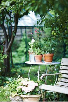 Little garden table