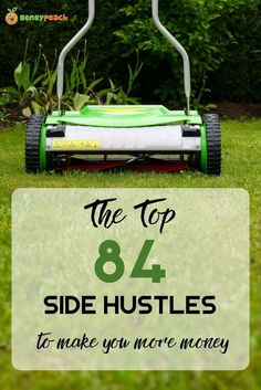 84 SideHustles that you can do from home, on the internet, and literally right away. It's time to get your side hustle on! via @https://www.pinterest.com/TheMoneyPeach/