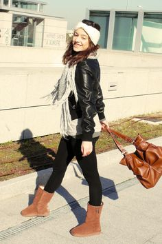 how to wear leggings with boots pictures | Do you like UGG's? - Page 3