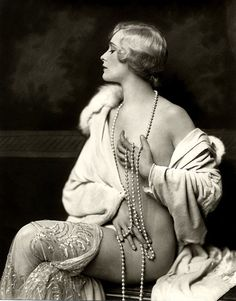 Ziegfeld Girl c.1920s by Alfred Cheney Johnston