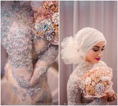 New and Exciting Hijab Styles For Wedding