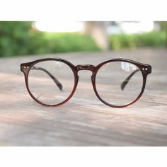 1920s Vintage oliver retro eyeglasses 82E41 Brown Round frames eyewear rubyruby | Clothes, Shoes & Accessories, Men's Accessories, Sunglasses & Eyewear | eBay!