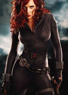 Black Widow one sexy bitch