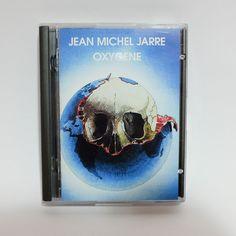 Jean Michel Jarre Oxygene album MD MiniDisc. 1976. newage. Remastered edition. #jeanmicheljarre #oxygene #minidisc