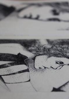 Pen in moleskine. 2013