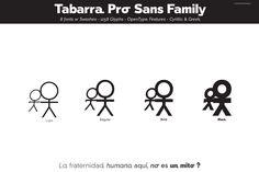 Tabarra Pro Sans Family by deFharo on @creativemarket