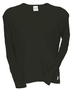 bamboo long sleeve shirt - clothes made in the USA - cool! $30 not too expensive either.