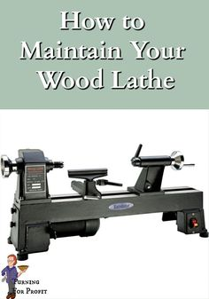 A wood lathe that is well maintained and tuned will be a joy to use and safer as well. I've included my daily, weekly and quarterly maintenance schedule. Check out all my tips here. Woodworking Projects Diy, Woodworking Plans, Best Wood Lathe, Cast Iron Beds, Rare Earth Magnets, Wood Turning Projects, Wood Bowls, New Toys, In The Heights