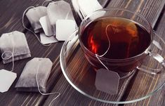 Do you love Tea? Check The Best Tea For a Peaceful Nights Sleep. Is your tea bag toxic? A recent study showed that one plastic tea bag can shed one billion microplastic particles into. Dry Itchy Eyes, Home Remedies For Burns, Used Tea Bags, Raw Potato, Drinking Tea, Bronzer, Cleaning Hacks, Drinks, Pollen Allergies