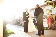 Ceremony in the Sun Garden (photo by Modern Love Photography).