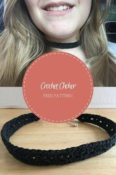 Crochet Choker Free Pattern
