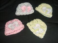 Crafting Friends Designs: V Stitch Preemie Hat Pattern