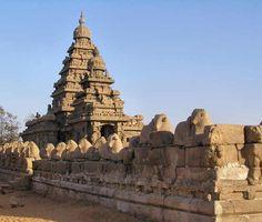 Shore temple at Mamallapuram