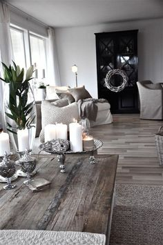 Holzmöbel im vintage Stil