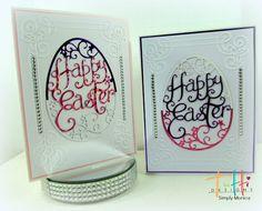 Tutti Designs: Happy Easter - Two Tone