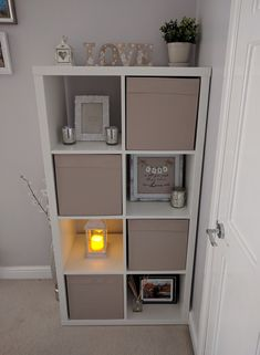 Room Ideas Bedroom, Home Decor Bedroom, Living Room Decor, Ikea Storage Cubes, Ikea Hallway, Ikea Units, Home Organisation, Organization, First Apartment Decorating