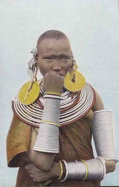 Meru Woman Kenya c1910
