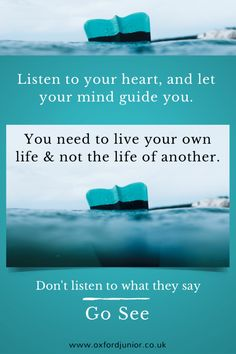 See related links to what you are looking for. Go See, Mind You, Listening To You, Live For Yourself, Oxford, Mindfulness, Let It Be, Sayings, Quotes