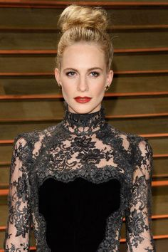 10 celebrity inspired hairstyles to wear on your wedding day: Poppy Delevingne.