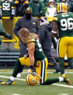 Clay Matthews.  The arms have it.