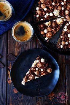 no bake chocolate orange tart Chocolate And Orange Tart, Baking, Pies, Bakken, Backen, Sweets, Pastries, Roast